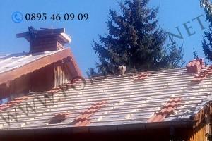 6Двойна скара покрив
